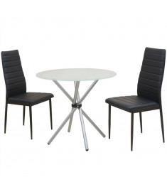 Σετ Τραπεζαρίας με Καρέκλες Τριών Τεμαχίων   242936