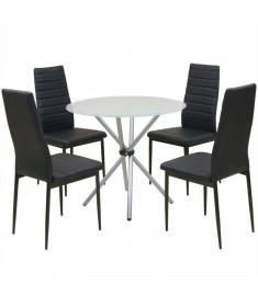 Σετ Τραπεζαρίας με Καρέκλες Πέντε Τεμαχίων  242937