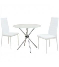 Σετ Τραπεζαρίας με Καρέκλες Τριών Τεμαχίων   242938