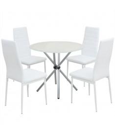 Σετ Τραπεζαρίας με Καρέκλες Πέντε Τεμαχίων   242939