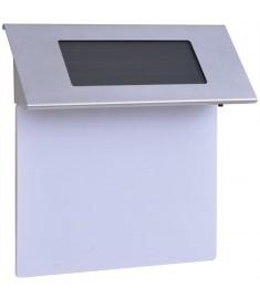 Φωτιστικό LED Ηλιακό με Αριθμό Διεύθυνσης Ανοξείδωτο Ατσάλι  42340