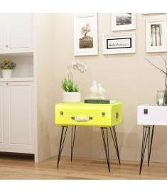 Βοηθητικό Τραπέζι Κίτρινο 49,5 x 36 x 60 εκ.   243166