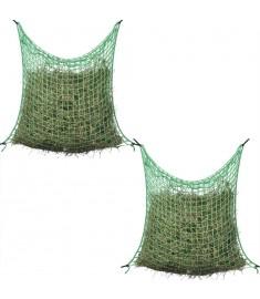 Δίχτυα Σανού Τετράγωνο Πλέγμα 2 τεμ. 0,9 x 1 μ. Πολυπροπυλένιο