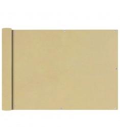 Διαχωριστικό Βεράντας Μπεζ 75 x 600 εκ. από Ύφασμα Oxford  42333