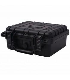 Βαλίτσα Εξοπλισμού Προστατευτική Μαύρη 27 x 24,6 x 12,4 εκ.  142169