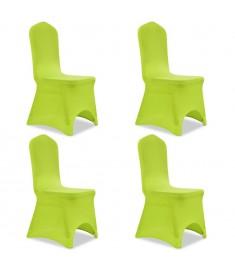 Καλύμματα Καρέκλας Ελαστικά 4 τεμ. Πράσινα