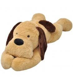 Σκύλος Λούτρινος Μαλακός Καφέ 80 εκ.  80142