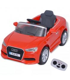 Αυτοκίνητο Ηλεκτροκίνητο Audi A3 με Τηλεχειριστήριο Κόκκινο    80149