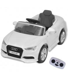 Αυτοκίνητο Ηλεκτροκίνητο Audi A3 με Τηλεχειριστήριο Λευκό   80151