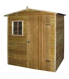 Αποθήκη/Σπιτάκι Κήπου 1,5x2 μ. από Εμποτισμένο Ξύλο Πεύκου FSC  41882