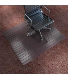 Πατάκι Καρέκλας/Προστατευτικό Δαπέδου Καφέ 110x130 εκ. Μπαμπού   243522