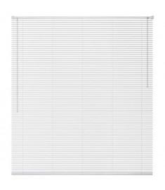 Στόρι Παραθύρου Λευκό 120 x 130 εκ. από Αλουμίνιο   242791
