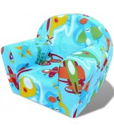 Πολυθρόνα Παιδική με Σχέδιο Αεροπλάνα  243252