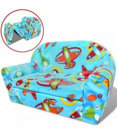 Πολυθρόνα-Κρεβάτι Παιδική Σχέδιο Αεροπλάνα  243256