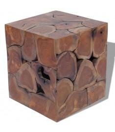 Σκαμπό 40 x 40 x 45 εκ. από Μασίφ Ξύλο Teak  243472