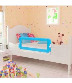 Μπάρα Κρεβατιού για Παιδιά Προστατευτική 2 τεμ. Μπλε 102x42 εκ.   276087