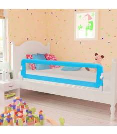 Μπάρα Κρεβατιού για Παιδιά Προστατευτική 2 τεμ. Μπλε 150x42 εκ.   276088