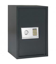 Χρηματοκιβώτιο Ψηφιακό Σκούρο Γκρι 40 x 35 x 60 εκ.   144683