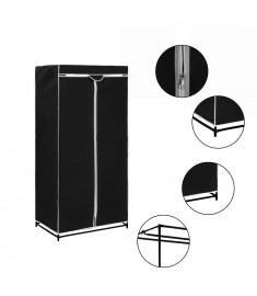 Ντουλάπα Μαύρη 75 x 50 x 160 εκ.  282437