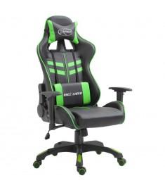 Καρέκλα Gaming Πράσινη από Πολυουρεθάνη  20195