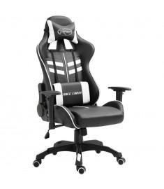 Καρέκλα Gaming Λευκή από Πολυουρεθάνη  20197