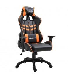 Καρέκλα Gaming Πορτοκαλί από Πολυουρεθάνη  20198