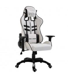 Καρέκλα Gaming Μαύρη από Πολυουρεθάνη  20225