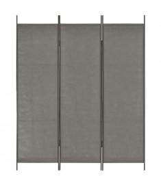 Διαχωριστικό Δωματίου με 3 Πάνελ Ανθρακί 150 x 180 εκ.  280249