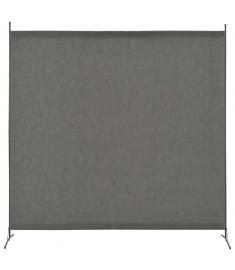 Διαχωριστικό Δωματίου με 1 Πάνελ Ανθρακί 175 x 180 εκ.  280265