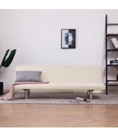 Καναπές - Κρεβάτι Κρεμ από Πολυεστέρα   282194