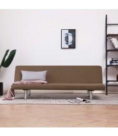 Καναπές - Κρεβάτι Καφέ από Πολυεστέρα   282195