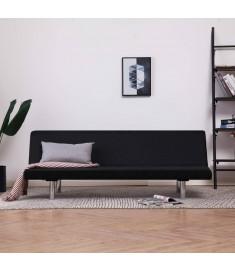 Καναπές - Κρεβάτι Μαύρος από Πολυεστέρα  282198