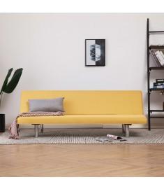 Καναπές - Κρεβάτι Κίτρινος από Πολυεστέρα   282199