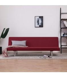 Καναπές - Κρεβάτι Μπορντό από Πολυεστέρα   282200