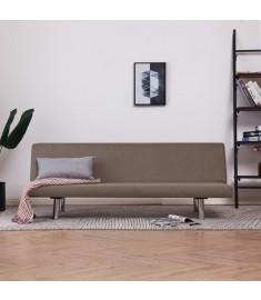 Καναπές - Κρεβάτι Χρώμα Taupe από Πολυεστέρα   282201