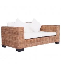 Καναπές Κήπου Διθέσιος από Γνήσιο Ρατάν  276350
