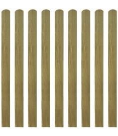 Σανίδες Φράχτη 20 τεμ. 120 εκ. από Εμποτισμένο Ξύλο FSC  276470