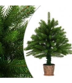 Χριστουγεννιάτικο Δέντρο Τεχνητό Πράσινο 65 εκ. με Γλάστρα  284326